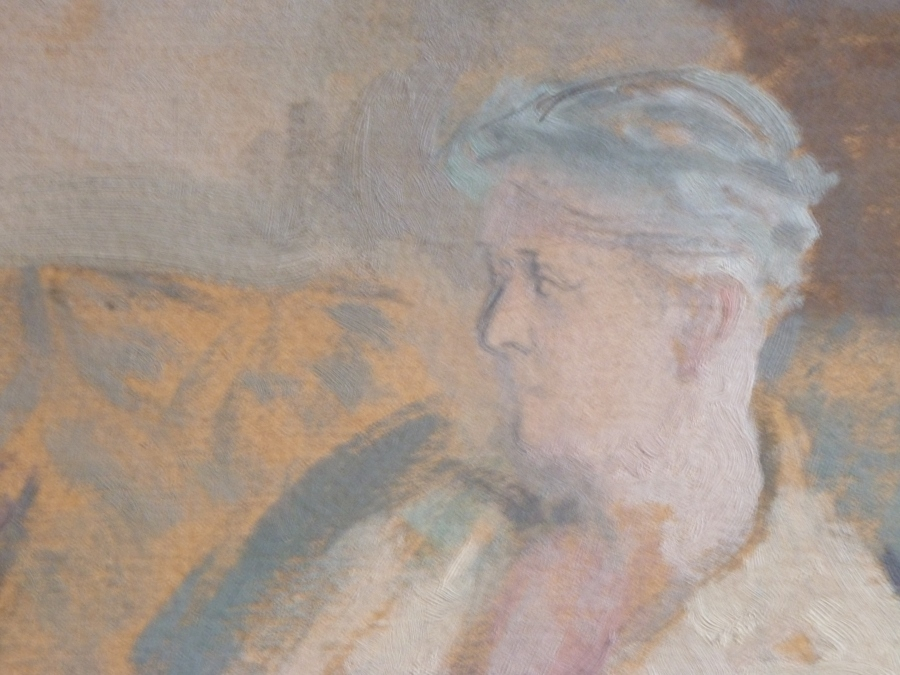 Irene Forbes-Mosse détail. Portrait  par Berthe Noufflard