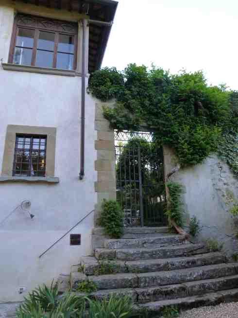 Villa Il Palmerino entrance