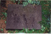 Violet Paget's tombstone