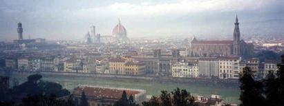 Vue panoramique de Florence